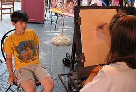 My life as a portrait artist